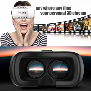 Head-Mounted 3D Vr Glasses Virtual Reality Vr Box Video Movie Game Glasses pictures & photos