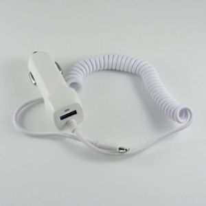USB Car Charger 5V 2.1A with Cable for iPhone 5/6 pictures & photos