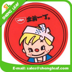 Hot Sale Cheap Eco-Friendly Silicone Coaster (SLF-RC035) pictures & photos