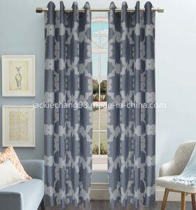 Printed Faux Silk Grommet Panel (HR14WT102) pictures & photos