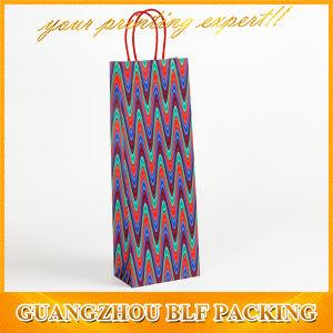 Luxury Custom Paper Wine Bottle Bag Christmas pictures & photos