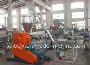 100-500kg/Hour HDPE Bottle Pellets Plastic Granulating Recycling Line pictures & photos