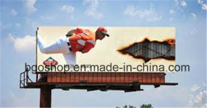 PVC Factory Price Frontlit Flex Banner Canvas PVC Film (1000dx1000d 9X9 510g) pictures & photos
