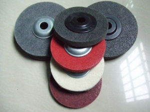 Non Woven Abrasive Fibre Polishing Disc pictures & photos