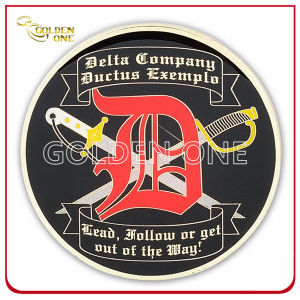 Custom Made Casting Gold Plated Challenge Coin for Souvenir pictures & photos