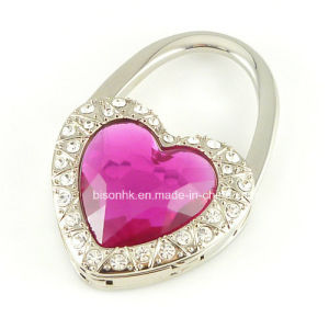 Heart-Shaped Diamond Purse Hook pictures & photos