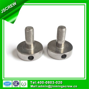 China Screws M4 Stainless Steel Knurled Screw pictures & photos