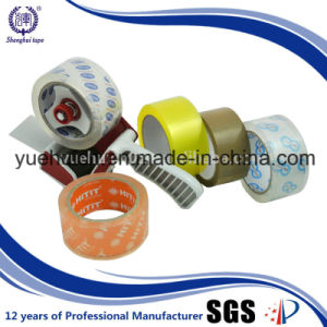 6 Rolls Flat Pack Add a Label Brown Packing Tape pictures & photos