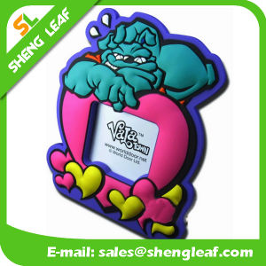 Mini Soft Rubber Silicone Photo Frame (SLF-PF073) pictures & photos