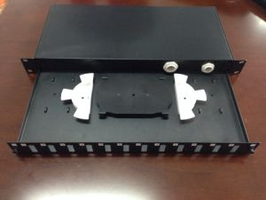 Sliding Optic Rack Mount, 1u 19′ Patch Panel pictures & photos
