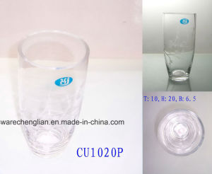 Crystle Clear Hand Made Glass Vases (V-040) pictures & photos