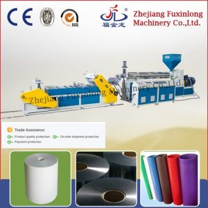 Single Layer Plastic Sheet Extrusion Machine pictures & photos