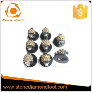 Diamond Bush Hammer Roller for Litchi Surface Power Tools pictures & photos