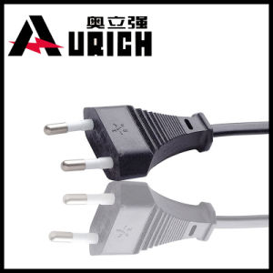 European Three Pins AC Power Plug pictures & photos