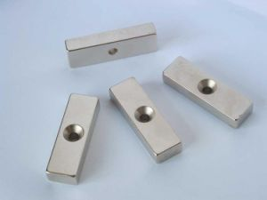 Sintered Permanent Rare Earth Countersunk Neodymium Magnets pictures & photos