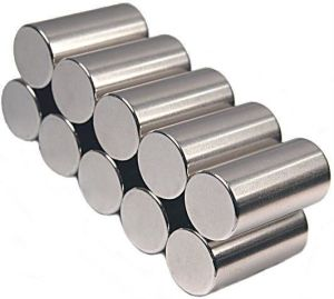 Cylinder Neodymium NdFeB Magnet with Coating