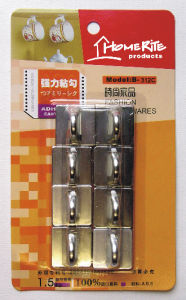 Plastic Adhesvie Hook (HK011C) Chrome for Household Products