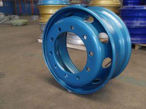 22.5*6.00 Standard Hot Sale 10 Hole Steel Rim /Wheel Rim pictures & photos