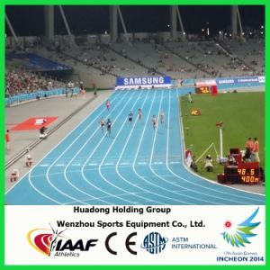 Outdoors Rubber Athletic Track Flooring pictures & photos