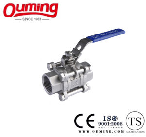 3PCS DIN M3 Ball Valve with Threaded End pictures & photos