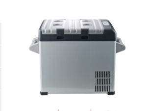 Mini Car DC Compressor Refrigerator 52liter, DC12/24V with Acadaptor (100-240V) pictures & photos