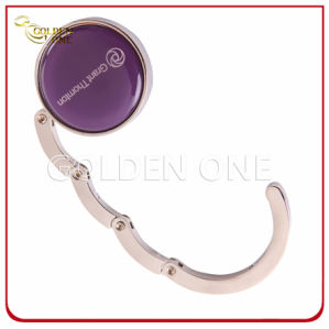 Custom Epoxy Coated Folding Circular Shape Purse Holder pictures & photos