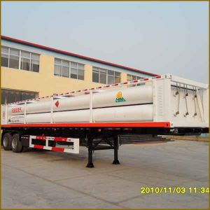 8 Tube CNG Trailer pictures & photos
