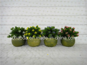 Artificial Plastic Potted Flower (XD15-371)