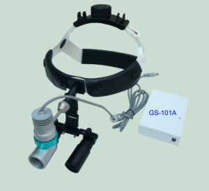Rechargeable LED Headlamp Magnifier Surgical Loupes 5X pictures & photos