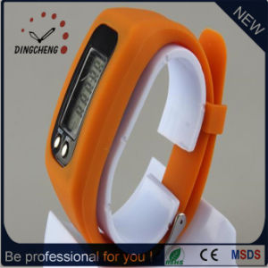(DC-863) Pedometer Wristwatch for Men′s Watch Silicone Strap Watch pictures & photos