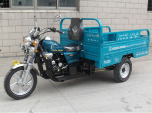 China Motorcycle 3 Wheel Cargo Tricycle Cheap Motor Truck Tricycle for Afghanistan pictures & photos