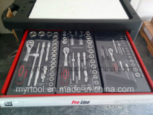 228PCS -6drawers Professional Trolley Tool Set (FY228A-1) pictures & photos