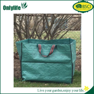 Onlylife New Design Portable Garden Bag Waste Bag with Handles pictures & photos
