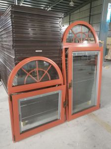 American Style Thermal Break Aluminum Doors and Windows with Insulation Glass pictures & photos