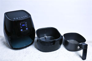 Touch Screen Air Fryer with LCD Display Electric Air Fryer