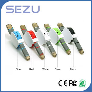 Retractable USB Charging Cable Sync Cable 3 in 1 USB Cable pictures & photos