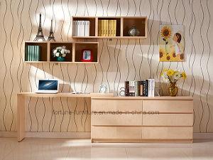 Modern Wooden Veneer Laminated Stretchable Computer Desk (N701-1.5B)