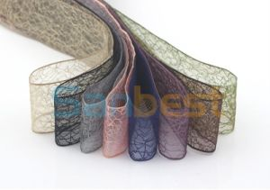 New Design Nylon Organza Ribbon for Wedding pictures & photos