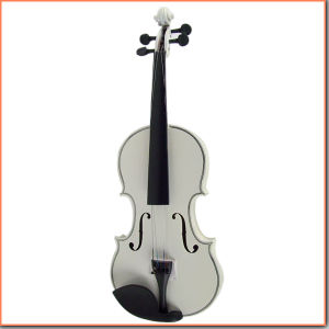 Colourful Plywood Violin White Violin pictures & photos