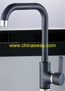 Granite Sink Tap, Movable Spout, Black (SW-09582-Q5) pictures & photos