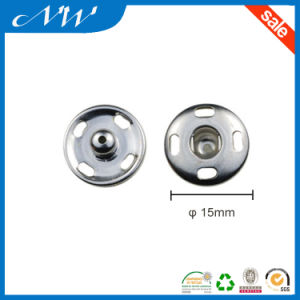 15mm Sewing Metal Snap Buttons in Round Shape pictures & photos