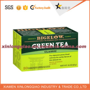 Factory Custom Mint Tea Packaging Paper Box pictures & photos