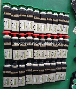 Green Push Button Valve Pneumatic Mechanical Valve pictures & photos