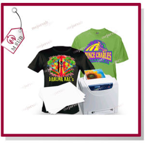 A4 No Cut Laser Dark Heat Transfer Paper pictures & photos