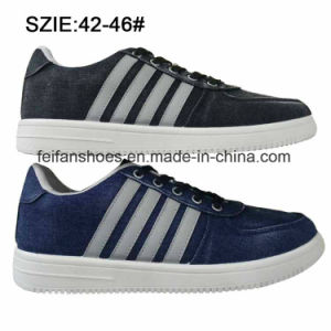 Latest Low Price Men′s Injection Shoes Jean Skate Shoes (MP16721-15) pictures & photos