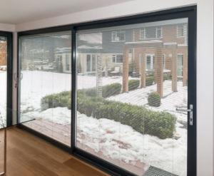 Double Glazing Glass Aluminum Sliding Door pictures & photos