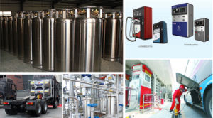 Cryogenic Welding Insulating Gas Cylinder (175L-210L) pictures & photos