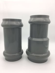 PVC Fitting Faucet Reducing Coupling with Rubber Ring pictures & photos