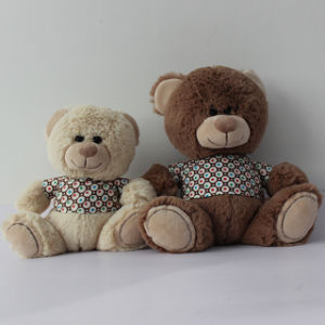 Stuffed Soft Toy Teddy Bear with Coat pictures & photos