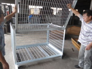 Wire Mesh Fish Cage pictures & photos